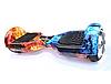 Гироборд Smart Balance 6,5 дюймов Огонь и Лед самобаланс | гироскутер детский Смарт Баланс 6,5 LED фары, фото 4