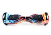 Гироборд Smart Balance 6,5 дюймов Огонь и Лед самобаланс | гироскутер детский Смарт Баланс 6,5 LED фары, фото 5