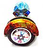 Гироборд Smart Balance 8 дюймів Вогонь і вода самобаланс | гироскутер дитячий Смарт Баланс 8 LED фари, фото 3