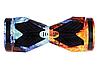 Гироборд Smart Balance 8 дюймів Вогонь і вода самобаланс | гироскутер дитячий Смарт Баланс 8 LED фари, фото 5
