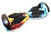 Гироборд Smart Balance 8 дюймів Вогонь і вода самобаланс | гироскутер дитячий Смарт Баланс 8 LED фари, фото 7