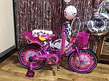 Велосипед Azimut Girls 14 дюймов, фото 5