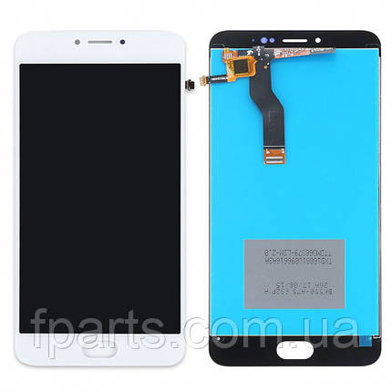 Дисплей для Meizu M3 Note (L681H) с тачскрином, White, фото 2