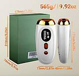 Професійний лазерний епілятор для видалення волосся IPL 990000, фото 6