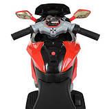 Мотоцикл дитячий M 4188AL-3 червоний, фото 3