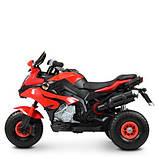 Мотоцикл дитячий M 4188AL-3 червоний, фото 4