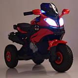 Мотоцикл дитячий M 4188AL-3 червоний, фото 6