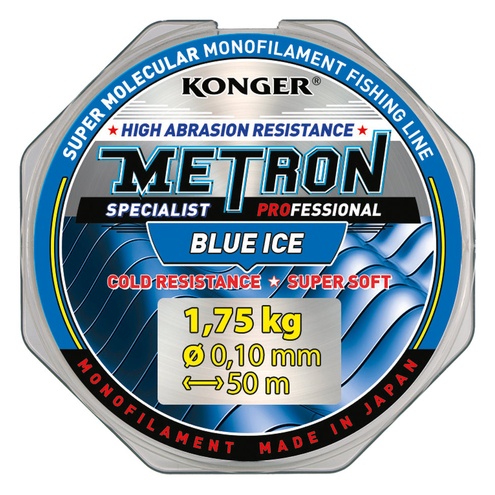 ЛЕСКА Konger METRON SPECIALIST PRO BLUE ICE 0.16mm/30m