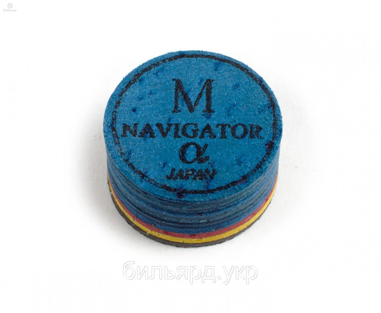 Наклейка для кия Navigator Alpha ø14мм Medium 1шт.
