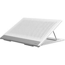 Подставка для ноутбука Baseus Let's go Mesh Portable Laptop Stand White Gray
