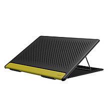 Подставка для ноутбука Baseus Let's go Mesh Portable Laptop Stand Gray Yellow