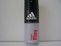 Аэрозольный мужской дезодорант Adidas Fair Play (Адидас Фаер Плей)