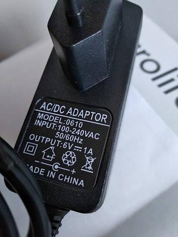 Адаптер блок живлення для тонометрів Microlife (Мікролайф), фото 2