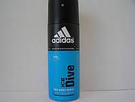Аэрозольный мужской дезодорант Adidas Ice Dive (Адидас Айс Дайв)