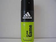 Аэрозольный мужской дезодорант Adidas Pure Game (Адидас Пюр Гейм)