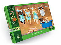 Пазлы 1000 элементов для детей и взрослых картонные красивые на много деталей (Милашки)