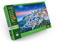 Пазлы 1000 элементов для детей и взрослых картонные красивые на много деталей (Сказочный склон)