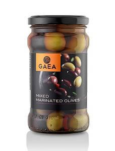 Оливки микс в маринаде Gaea, 175г
