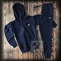 Спортивный костюм Nike синий Мужской спортивный костюм