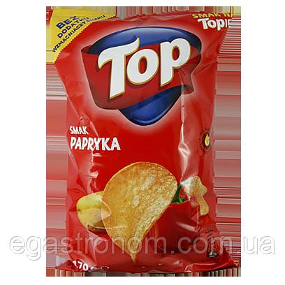 Чіпси Топ паприка Top papryka 18шт/ящ (Код : 00-00005020)