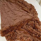 Плед-покрывало Koloco меховый Травка, фото 4