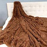 Плед-покрывало Koloco меховый Травка, фото 2