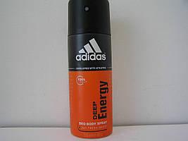 Аэрозольный мужской дезодорант Adidas Deep Energy (Адидас Дип Энержи)