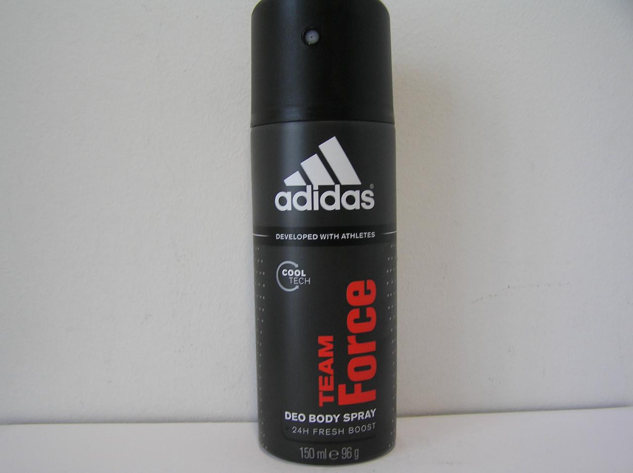 Аэрозольный мужской дезодорант Adidas Team Force (Адидас Теам Форсе)