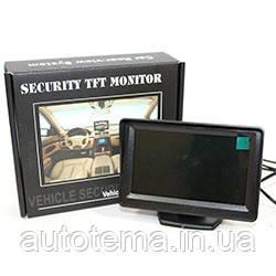 Монітор 4.3 дюймів автомобіль для камери заднього ВИДУ