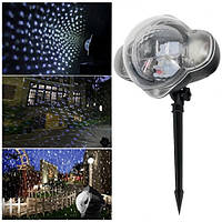 Кольоровий лазерний проектор Snow flower Lamp Pro 2