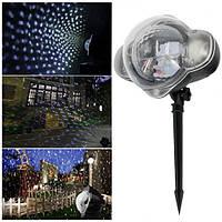 Цветной лазерный  проектор Snow flower Lamp Pro 2