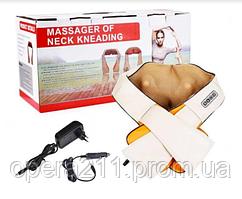 Массажер -- Роликовый массажер для спины и шеи Massager of Neck Kneading / ART-0051 (20шт)