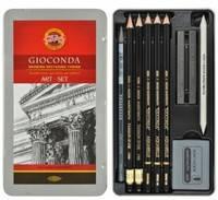 Художественный набор Gioconda из 10 предметов  в металле 8893