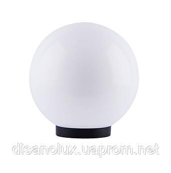 Світильник садово-парковий куля NF1801 ф150мм білий і адаптер Е27 IP44