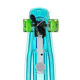 Пенниборд-скейт 840, Светящаяся дека+блютуз колонка, колёса PU СВЕТЯЩИЕСЯ, фото 5