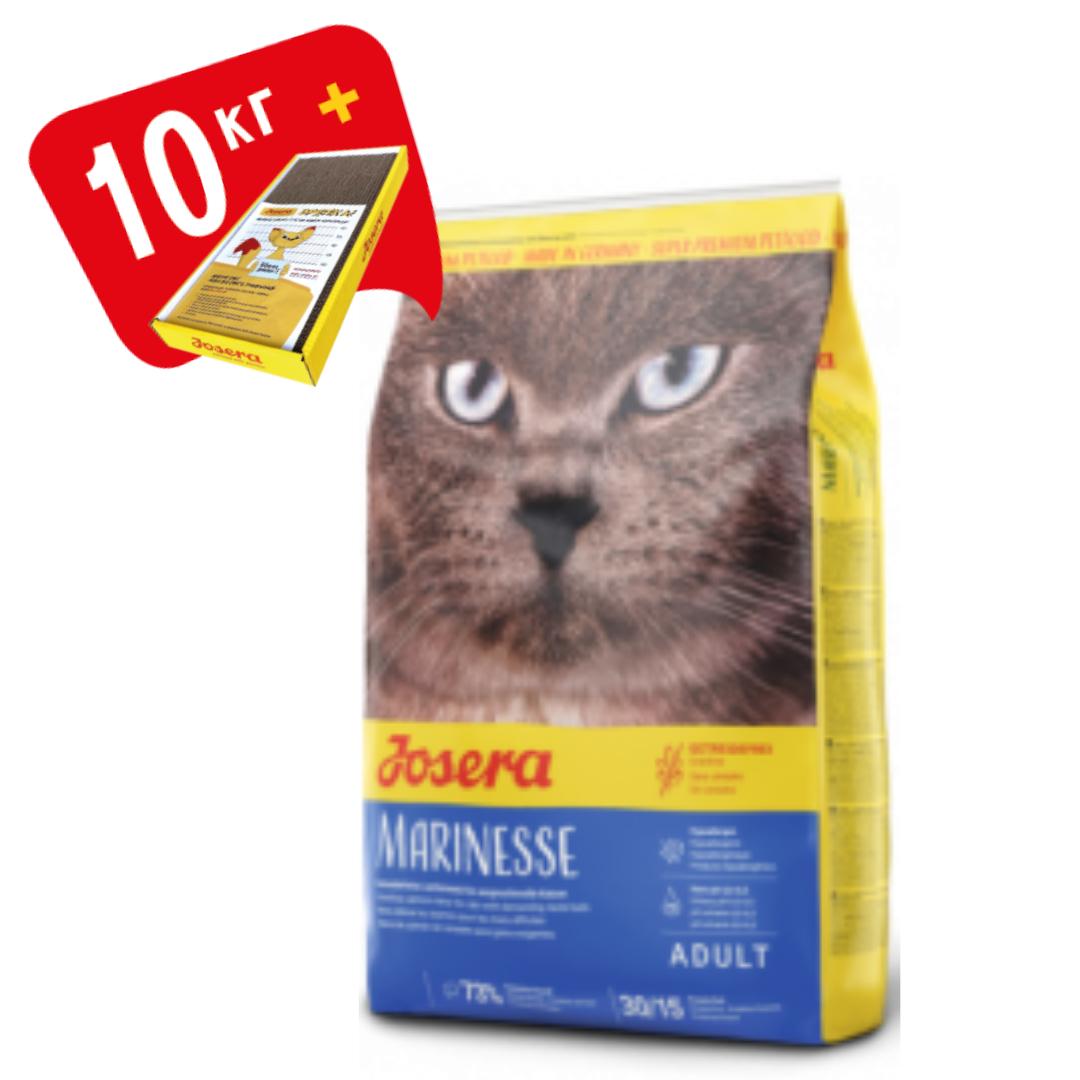 Корм Josera Marinesse Йозера Марінезе для кішок гіпоалергенний з лососем 10 кг кешбек та доставка