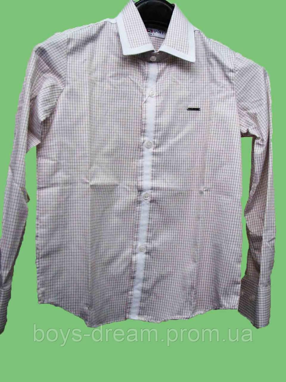 Рубашка для мальчика 122-158 Турция