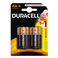 Duracell Basic Alkaline AA 1.5V (LR6) Батарейки 5 + 1 шт бесплатно