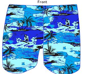 Плавки чоловічі купальні in.atlantiiks (5XL за 7XL) арт.F-1510, фото 2