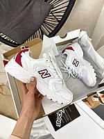 Женские кроссовки New Balance 530 White Red, фото 1