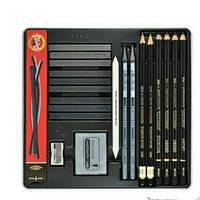 Художественный набор KIN Gioconda  из 23 предметов в металл.пенале 8898
