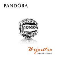 Pandora подвеска-шарм БОЧОНОК ПАВЕ 791115CZ серебро 925 Пандора оригинал