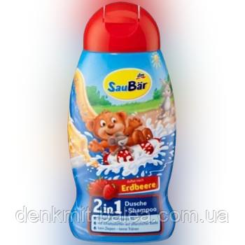 Детский шампунь без слез  3в1  SauBar Dusche & shampoo for Kids  250 мл
