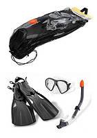 INTEX 55657 набор для погружения под воду маска+трубка+ласты от 14 лет