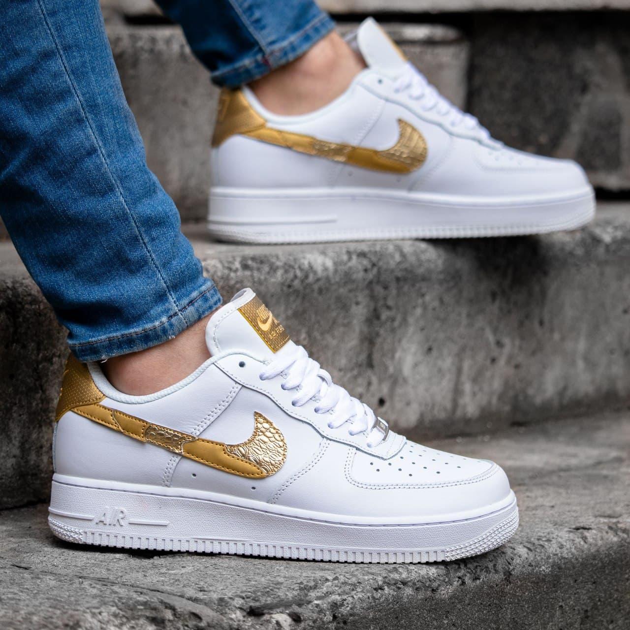 Мужские кроссовки Nike Air Force 1 Golden