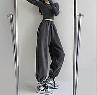 Женские стильные базовые спортивные штаны джоггеры, фото 1