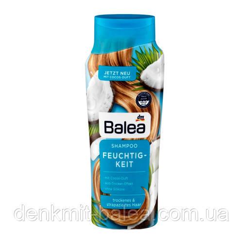 Шампунь Кокос для всіх типів волосся Balea Feuchit-Keit Shampoo 300 мл.