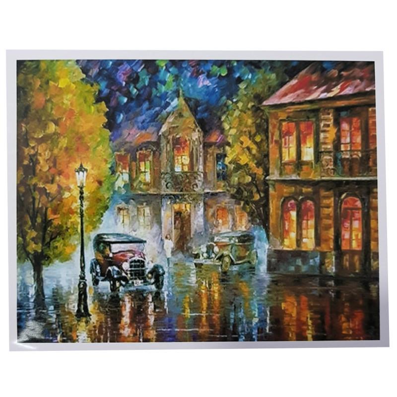 "Картина по номерам ""Осенняя улица"" PH 9508, 40-50 см"