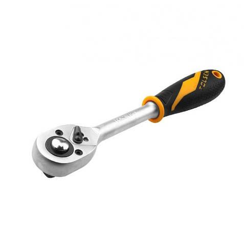 Ключ-трещотка Tolsen Profi 1/2'' 260мм, 36 зубов (15120), фото 2