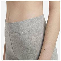 Велошорты женские Nike Sportswear Essential Bike Shorts CZ8526-063 Серый, фото 2